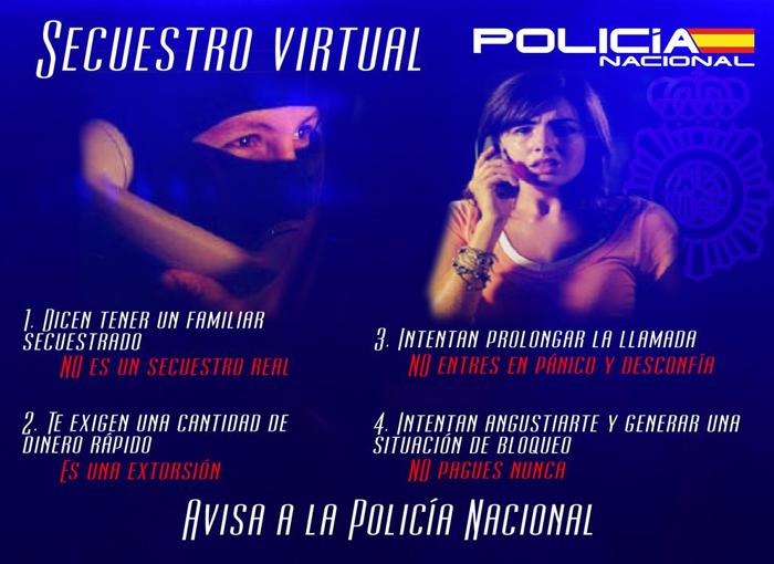 La Policía Nacional frustra un secuestro virtual en Madrid
