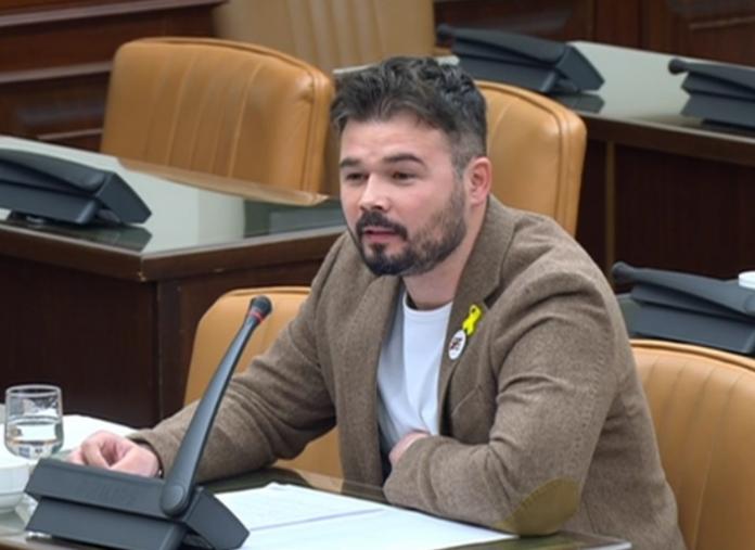 Gabriel Rufián-aplazar mesa de diálogo