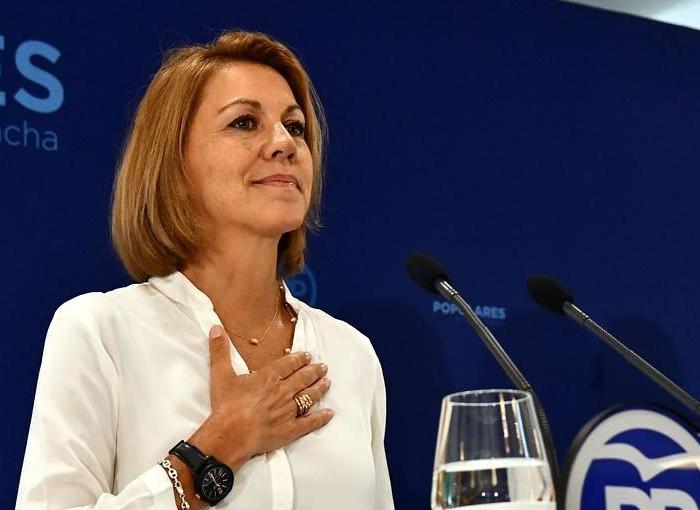 María Dolores de Cospedal vive alejada de la política