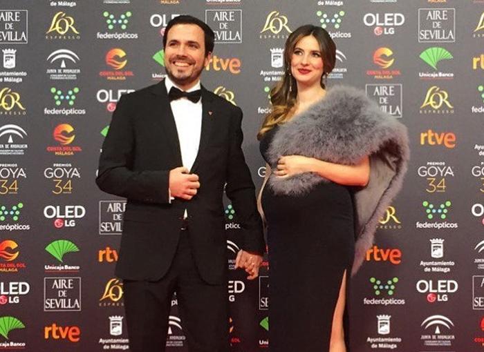 Alberto Garzón está casado con Anna Ruiz, con quién espera su segunda hija