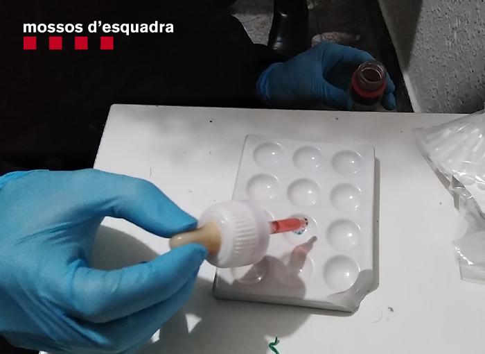Desmantelado un grupo delictivo dedicado al tráfico de cocaína en Hospitalet.