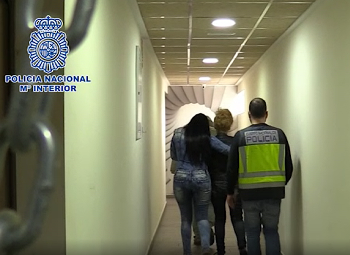 Desarticulada una organización criminal que explotó sexualmente a más de 200 mujeres en Murcia