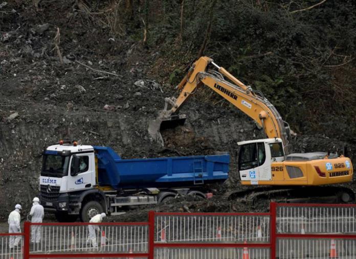 La empresa del vertedero de Zaldibar, investigada por un delito ambiental y laboral