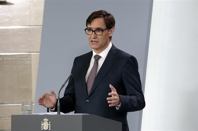 Rueda de prensa del ministro de Sanidad y la vicepresidenta de Asuntos Económicos (23/03/20)