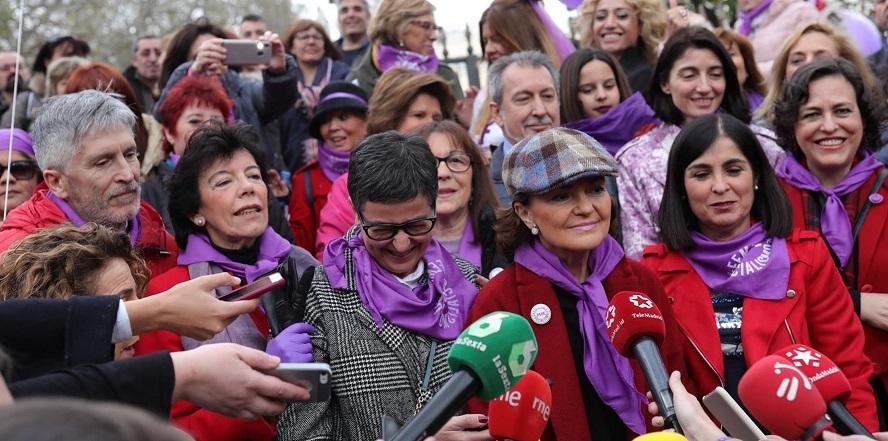 Carmen Calvo declaraciones 8-M Ciudadanos