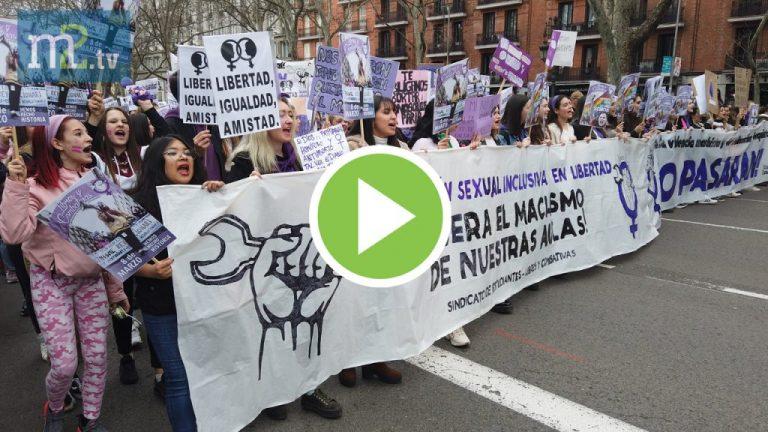 """VÍDEO: Los gritos a Ciudadanos, la """"unidad"""" del Gobierno y otros momentos del 8-M"""