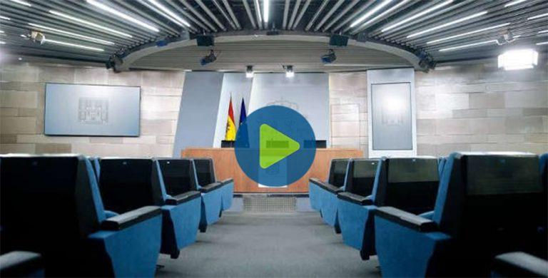 Sigue en directo la rueda de prensa del Comité de Gestión Técnica del coronavirus