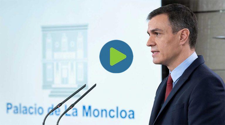 Sigue en directo la comparecencia del presidente del Gobierno, Pedro Sánchez