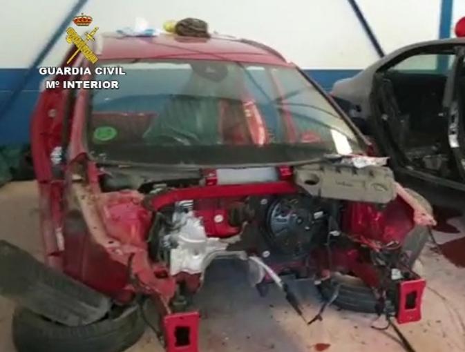 32 personas detenidas por la Guardia Civil por robo de vehículos