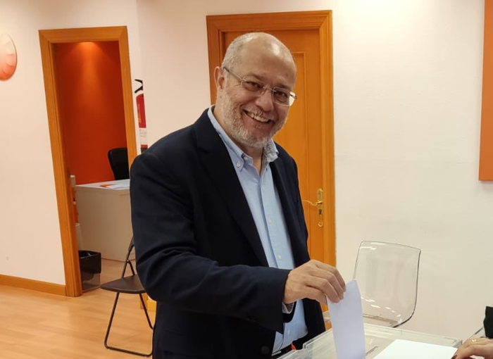 Francisco Igea, vicepresidente de la Junta de Castilla y León con Cs