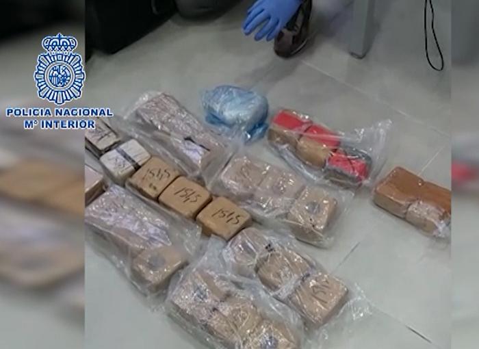 Intervenido en Marbella un alijo con 27 kilos de heroína
