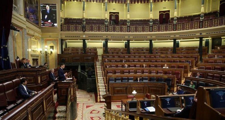 Directo: Pleno del Congreso sobre la prórroga del estado de alarma