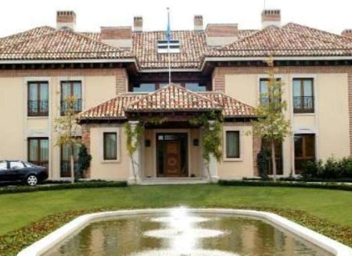 """El """"Pabellón del Príncipe"""" es la vivienda de Felipe VI y Letizia."""