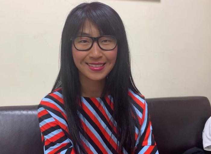 """Yibing Cao, colaboradora de """"El Hormiguero""""."""