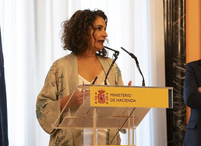 María Jesús Montero, ministra de Hacienda, tiene dos hijas