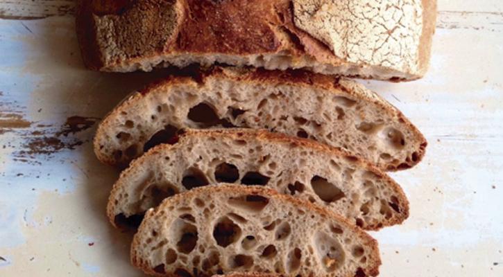 panes con masa madre sin levadura