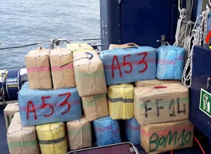 La Agencia Tributaria incauta 2.000 kilos de hachís en un alijo en Huelva