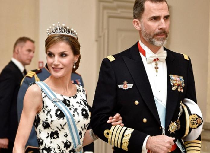 Letizia y Felipe VI, reyes de España