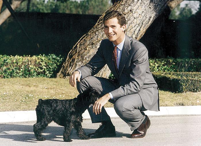 Pushkin, el perro de Felipe VI en la Casa Real
