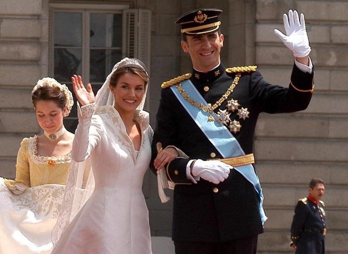 Letizia y Felipe VI el día de su boda.