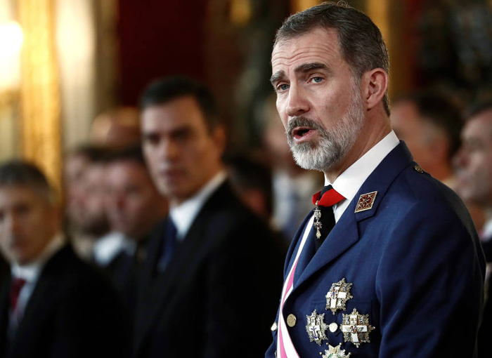 El Rey de España, Felipe VI.