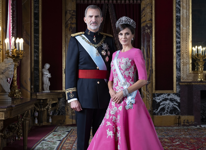 Letizia y Felipe VI, reyes de España.