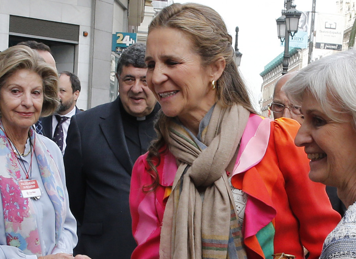 La hermana del Rey Felipe VI trabaja en la Fundación Mapfre.