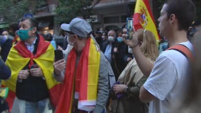 Vallecas contra las manifestaciones: