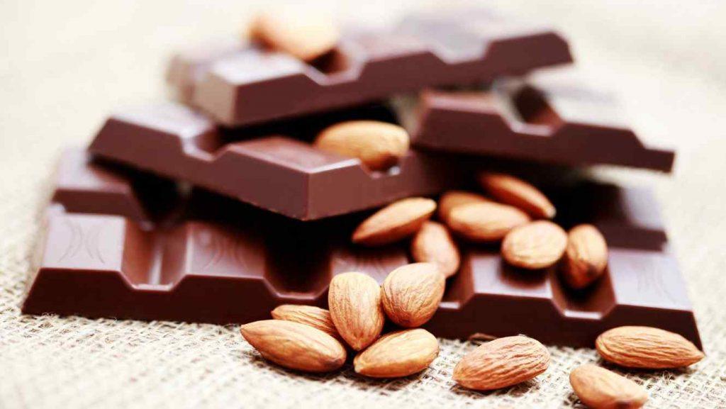 almendras chocolate