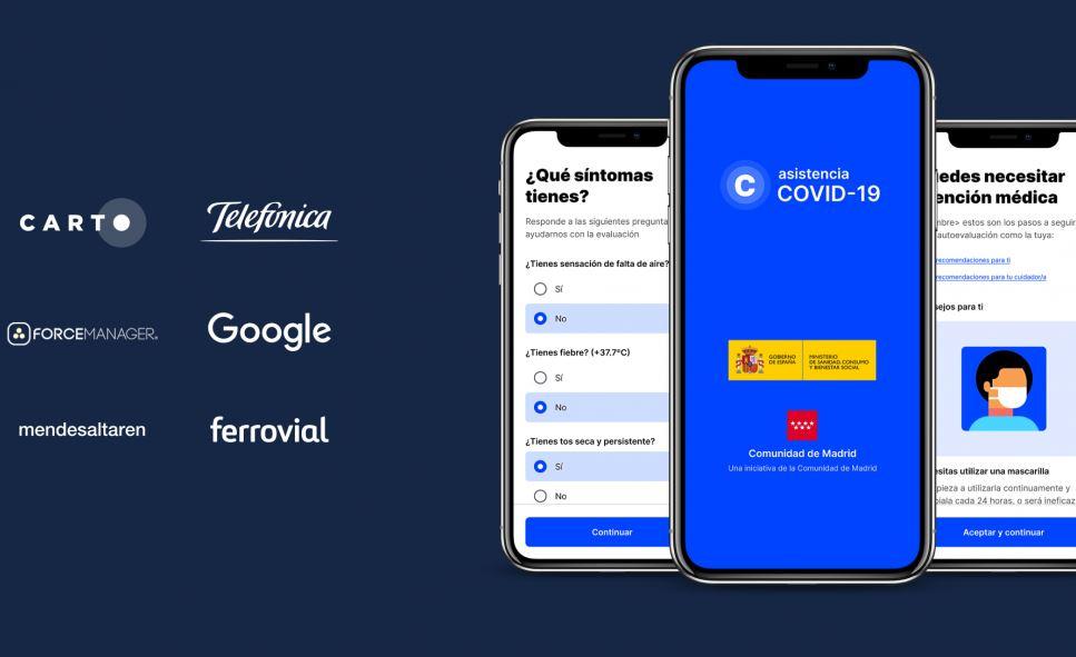 app autodiagnóstico Gobierno coronavirus