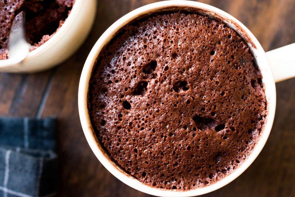 bizcocho fácil de chocolate