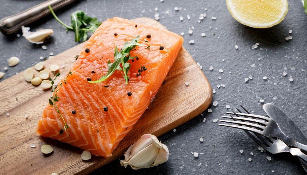 salmon tripa plana