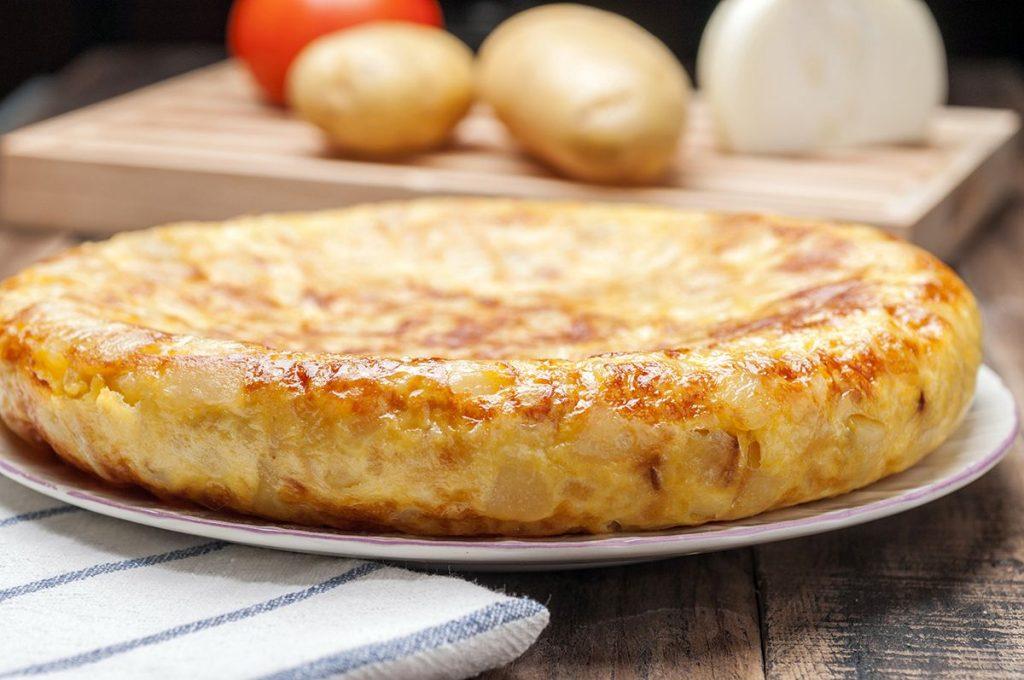 Tortilla de patata con o sin cebolla
