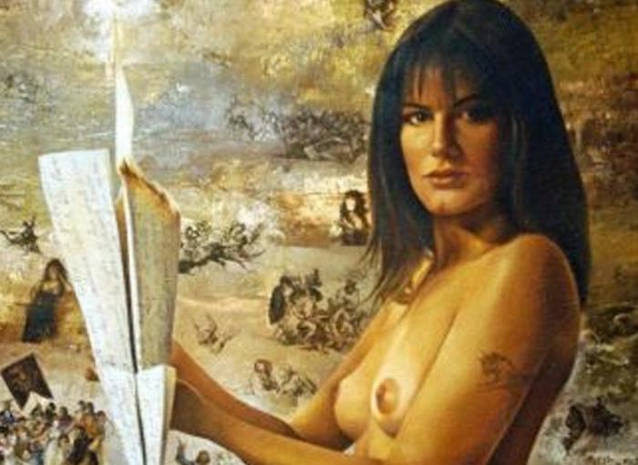 El dibujo de la Reina Letizia desnuda es una de las fotos que la Casa Real quiso borrar.