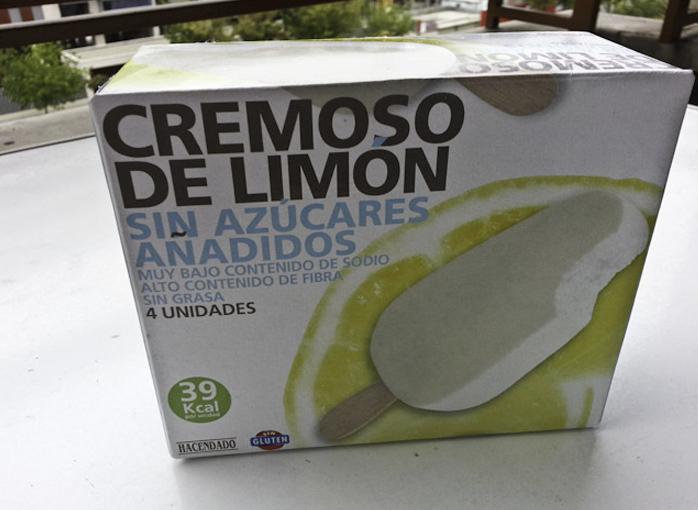 Cremoso de limón de Hacendado