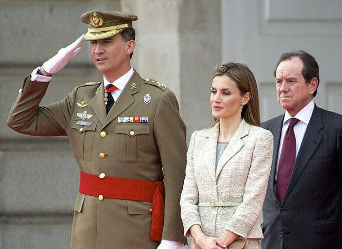 Jaime Alfonsín Alfonso, jefe de la Casa Real.