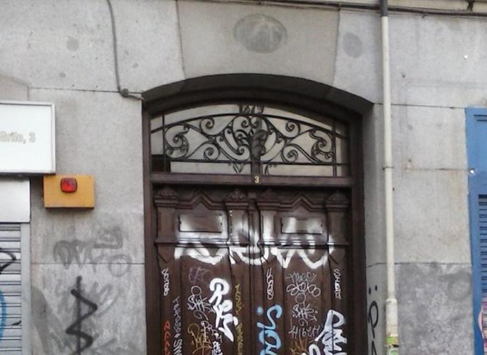 La casa maldita de Madrid.
