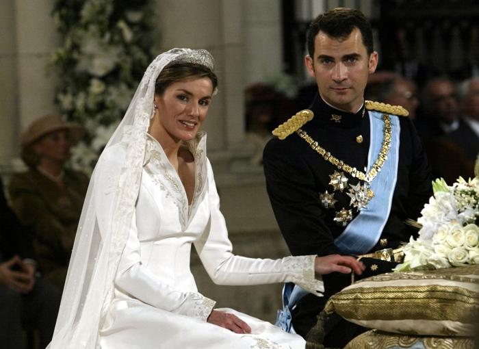 El acuerdo prematrimonial de los reyes.