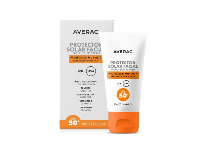 CREMA SOLAR FACIAL CARREFOUR AVERAC SPF50+