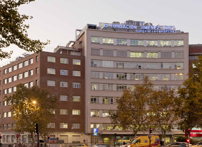 FUNDACIÓN JIMÉNEZ DÍAZ, EL MEJOR DE LOS HOSPITALES PRIVADOS DE ESPAÑA EN 2019