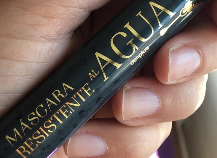 MÁSCARA RESISTENTE AL AGUA DE MERCADONA