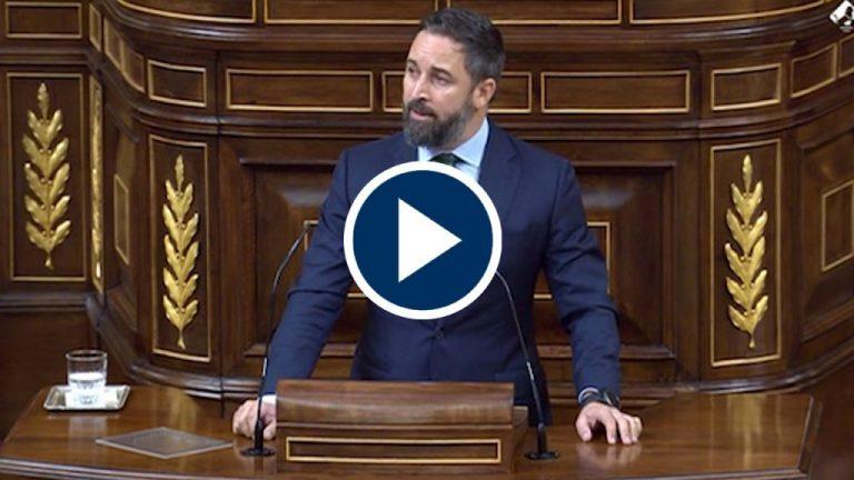 Santiago Abascal se harta del Gobierno y presentará una moción de censura