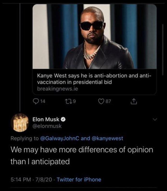 Kanye West... ¿presidente? Estos millonarios apoyarían su candidatura