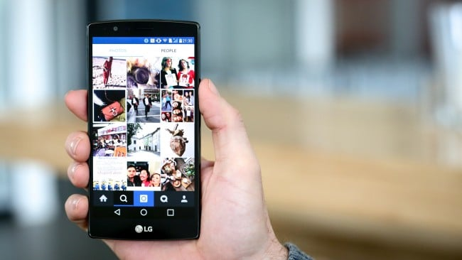 Instagram en tu móvil