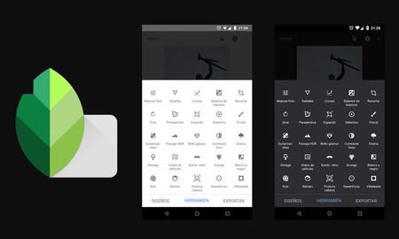 Snapseed, aplicaciones gratis para tu móvil