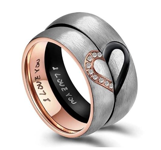 anillos para compartir