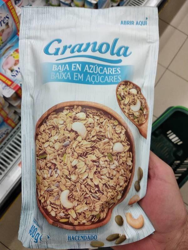 Granola y otros productos eco en Mercadona Carrefour y Lidl