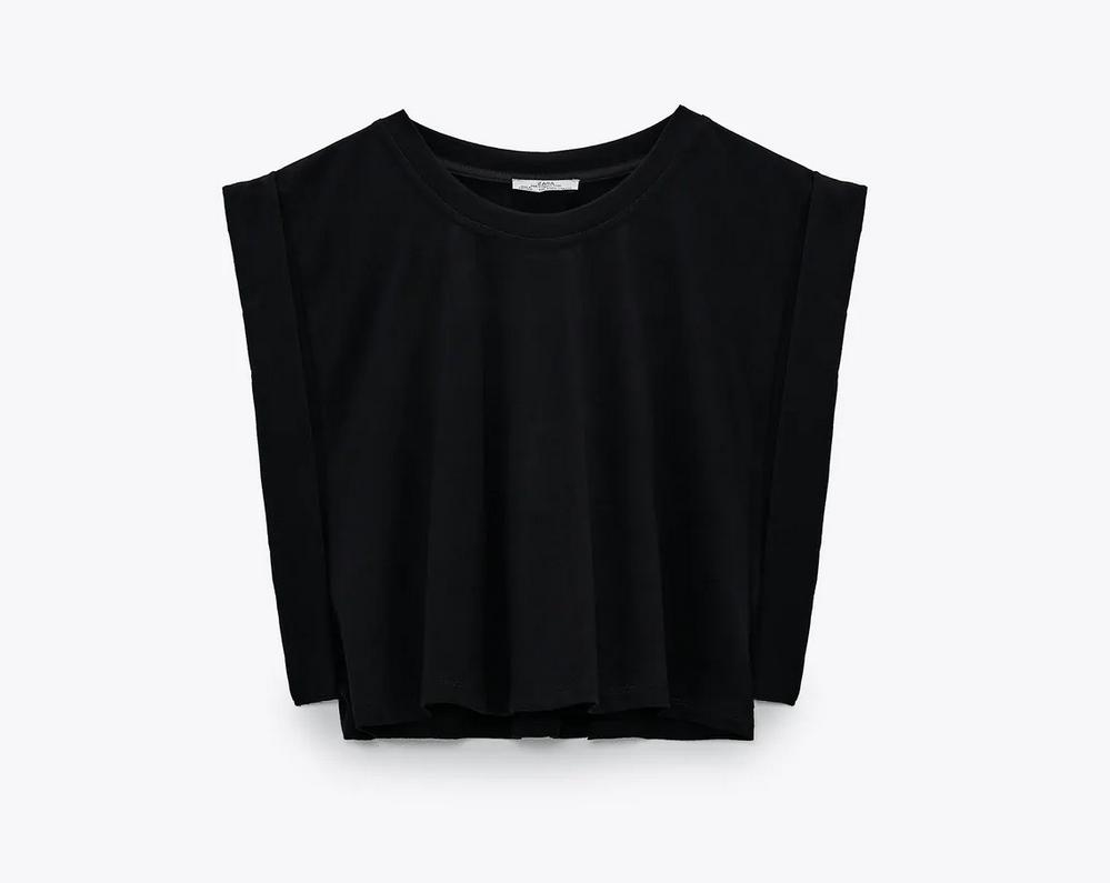 camiseta preciosa de Zara