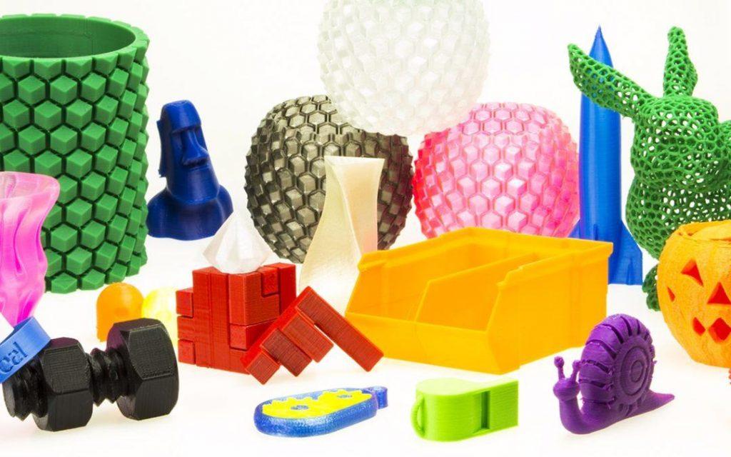 Materiales utilizados en la impresión 3D