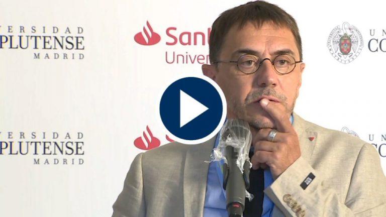 Monedero da clases de periodismo a Pedro J. Ramírez